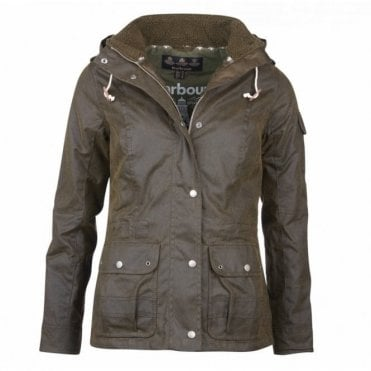 Women's Redcliffe Wax Jacket - Green