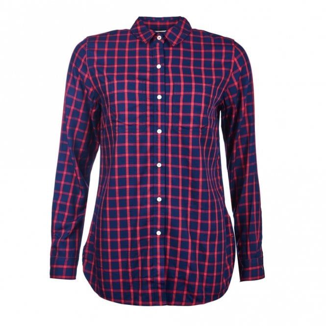 Barbour Women's Seaton Shirt - Red Check