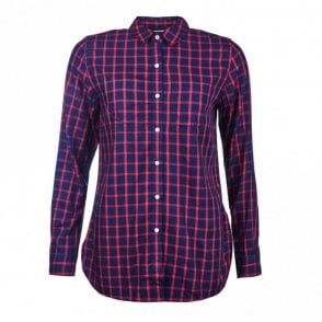 Women's Seaton Shirt - Red Check