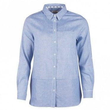 Barbour Women's Seaward Shirt - Breeze Blue