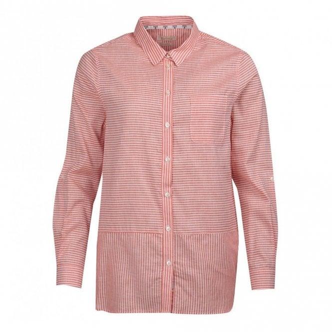 Barbour Women's Seaward Shirt - Marigold Orange