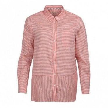 Women's Seaward Shirt - Marigold Orange