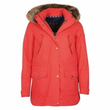 Women's Stronsay Jacket Reef Red - Red