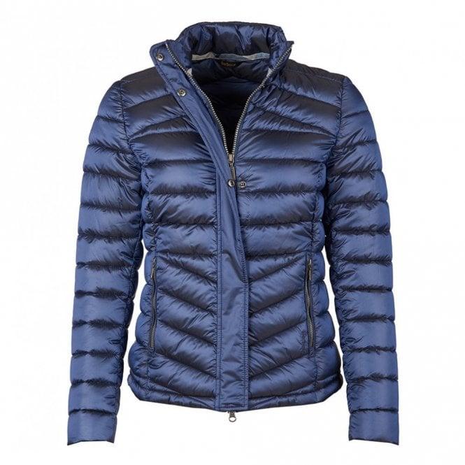 Barbour Women's Vartersay Quilt Jacket Royal Navy - Navy