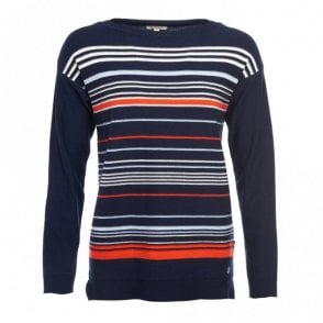 Women's Whitby Knit Navy/cloud/signal Orange - Navy