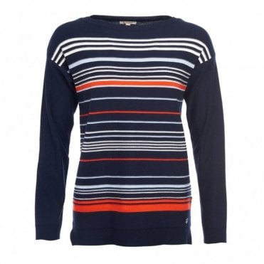 Women's Whitby Knit Navy/cloud/signal Orange - Navy