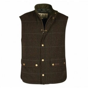 Wool Lowerdale Gilet Olive - Green