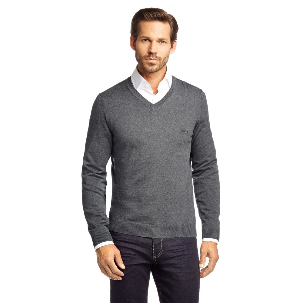 hugo boss pullover damen details about hugo boss pullover herren strick sweater v neck regular. Black Bedroom Furniture Sets. Home Design Ideas