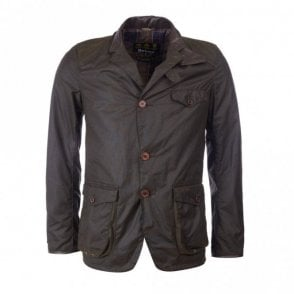 Beacon Sports Wax Jacket - Olive Green
