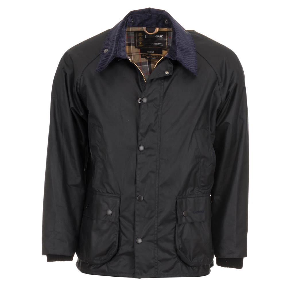 Barbour Men S Bedale Wax Jacket Navy Free Shipping