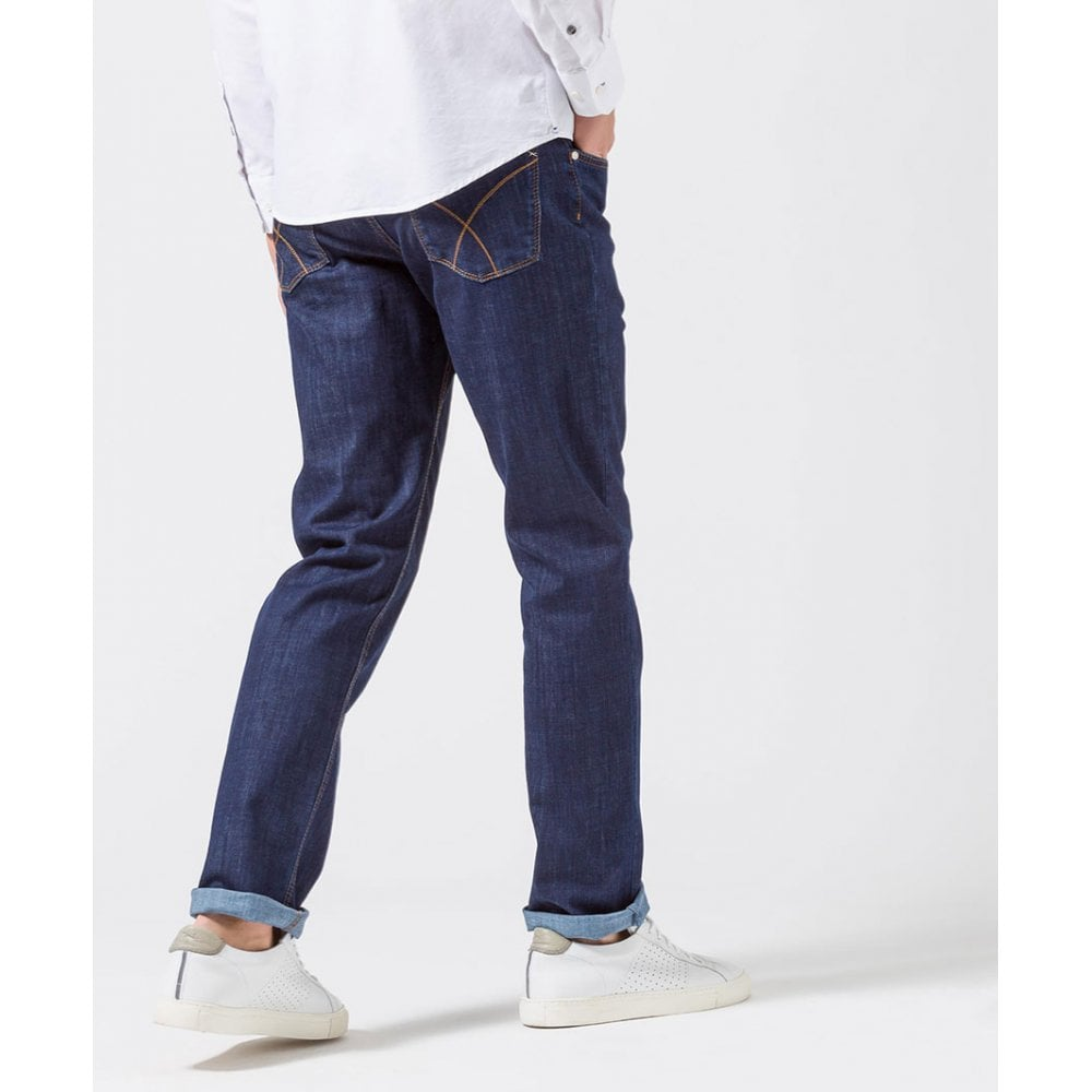 authentic quality website for discount get new Brax Dark Blue Cooper Jeans 80-3000/24 - Blue