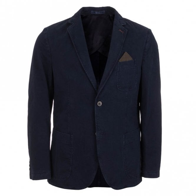 Brax Garda Casual Cotton Jacket - Blue
