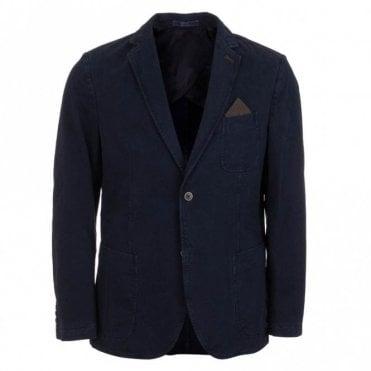Garda Casual Cotton Jacket - Blue