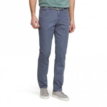 Chicago Pale Blue Chino 1-5005/17 - Blue