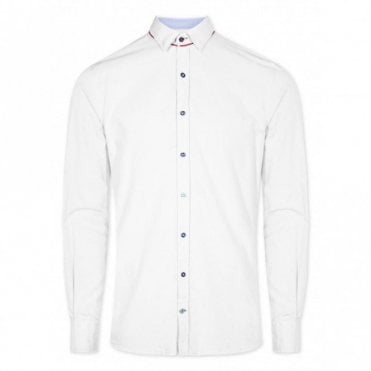Colours & Sons Slim Fit Shirt - White