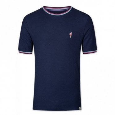 Colours & Sons Slim Fit T-shirt - Navy