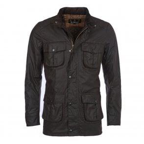 acc1f4aae8a8d Barbour Sapper Waxed Jacket - Black (MWX0020BK91)