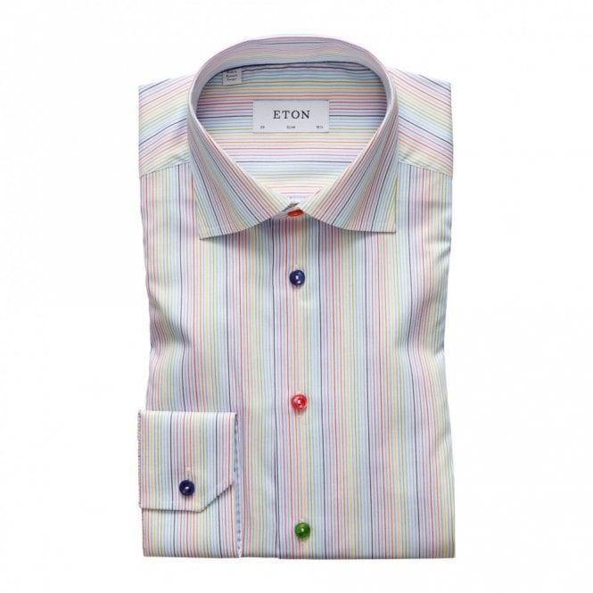 ETON Contemporary Fit Multicolour Stripe Shirt