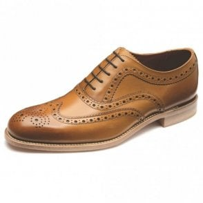 Fearnley Calf Brogue Oxford - Tan