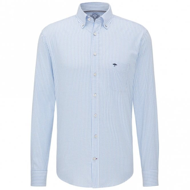 Fynch-Hatton Blue Stripe Shirt - Blue