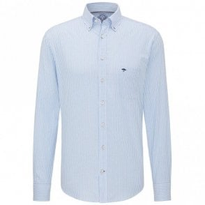 Blue Stripe Shirt - Blue