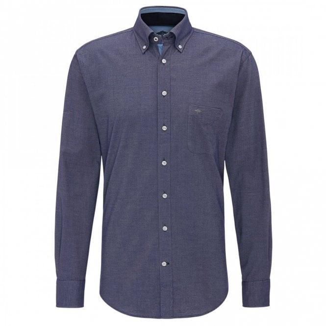 Fynch-Hatton Denim Blue Shirt - Blue