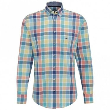 Multicolour Check Shirt - Pink Check