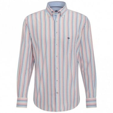 Multicolour Combination Stripe Shirt