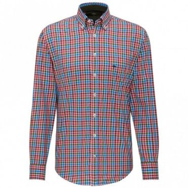 Red/blue Check Shirt