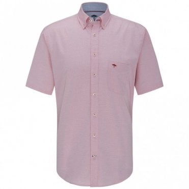 Solid Summer Structure Shirt - Pink