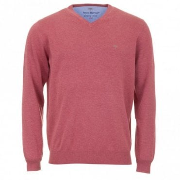 Superfine Sweater - Coral Pink