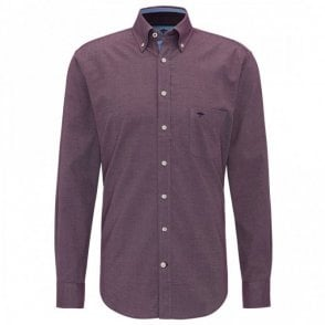 Fynch-Hatton Twill Shirt - Purple