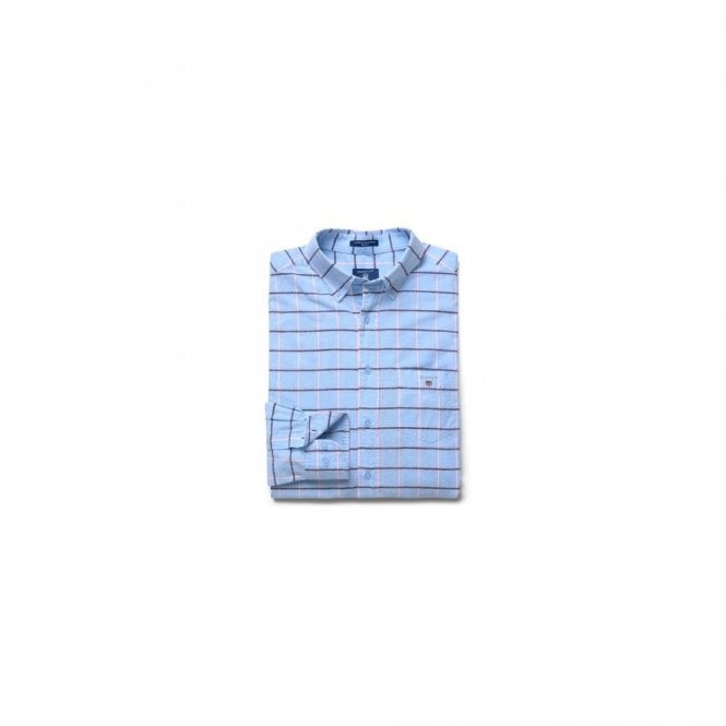 Gant Blue Pack Madras Reg Bd - Capri Blue