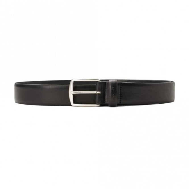 Gant Classic Leather Belt - Black