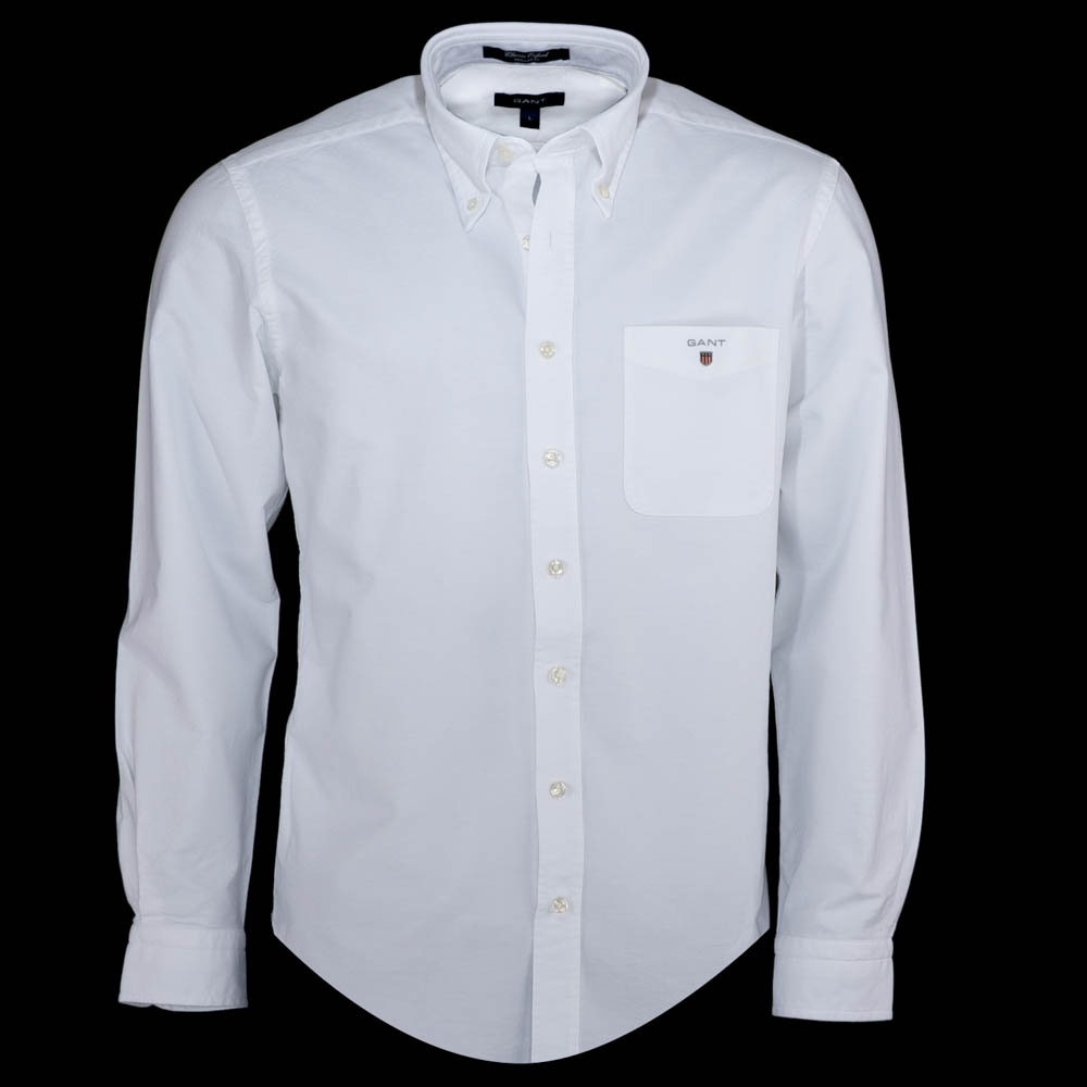 Gant Classic Oxford Shirt - White - Gant from Charles Hobson UK