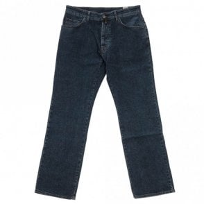 Comfort Denim Jeans - Dark Blue