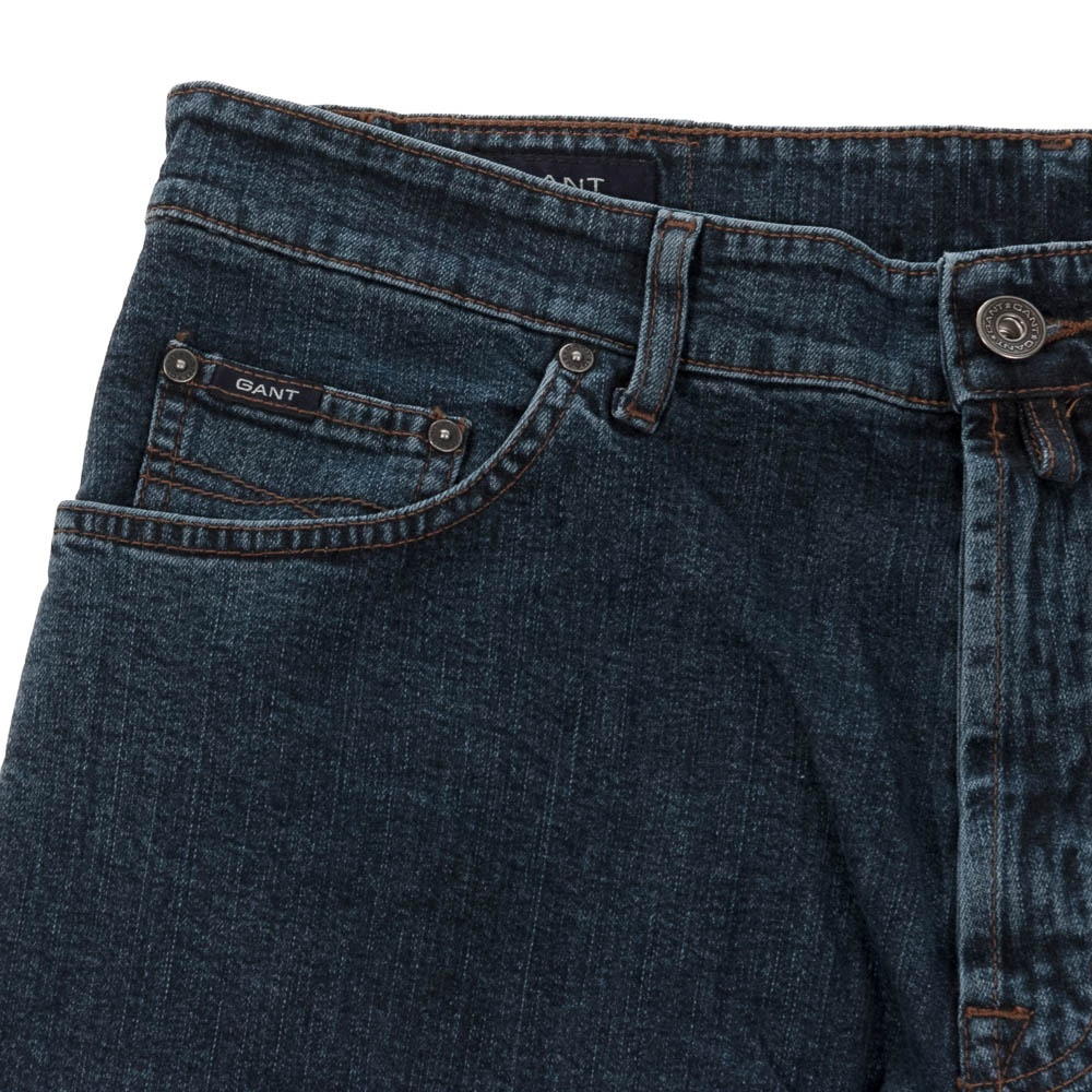 2f9e94c447 Comfort Denim Jeans - Dark Blue - Mens from Charles Hobson of ...