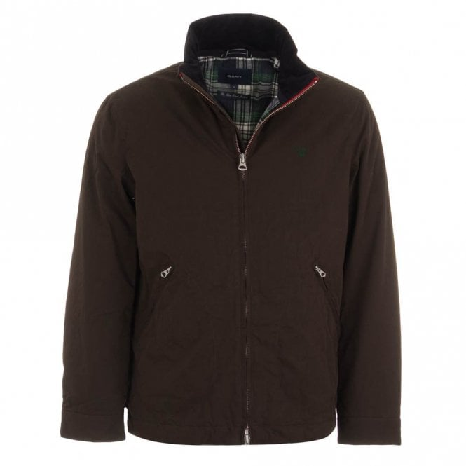 Gant East Coast Jacket - Brown