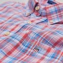 Gant Indian Madras Reg Bd - Capri Blue