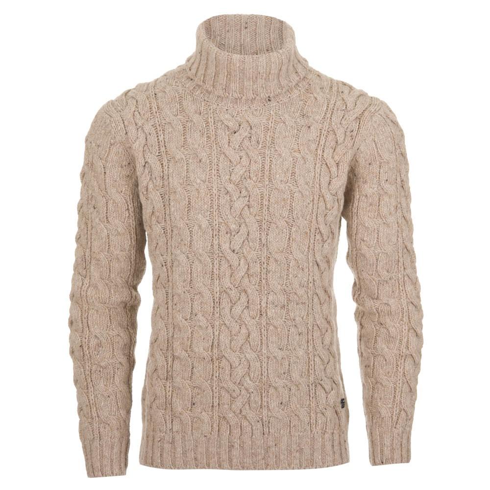 b9ff94c7f70 Gant Lambswool Cable Knit Jumper - Beige (86525 290)
