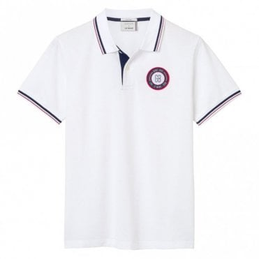 Le Mans Countries Tech Prep Polo Shirt - White