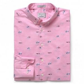 Le Mans Fil Coupe Shirt Reg - California Pink