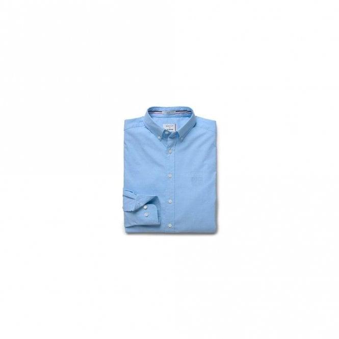 Gant Le Mans Tech Prep Oxford shirt Reg - Capri Blue
