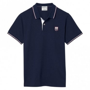 Le Mans Tech Prep Ss Rugger Polo Shirt  - Blue