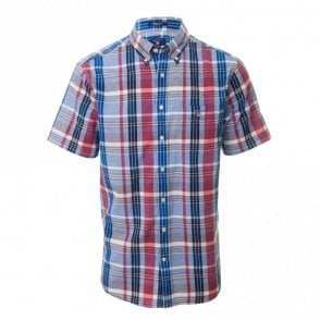 Madras Plaid Bd Short sleeve - Pink Check