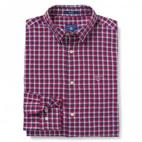 Oxford Check Raspberry Red - Red Check