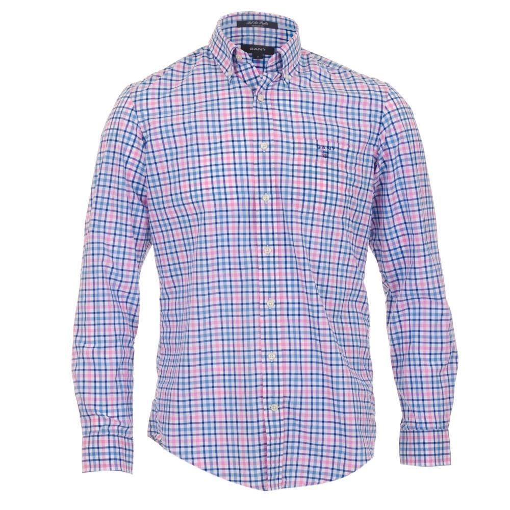 Gant Poplin Shirt Pink Check