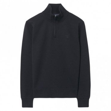 Sacker Rib Half Zip Sweater Navy