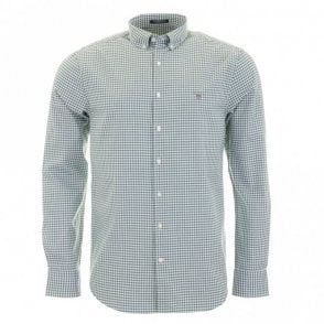 Tech Prep Oxford Gingham - Green Check
