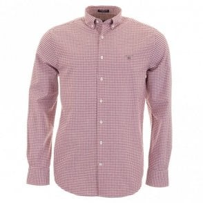 Tech Prep Oxford Gingham - Red Check